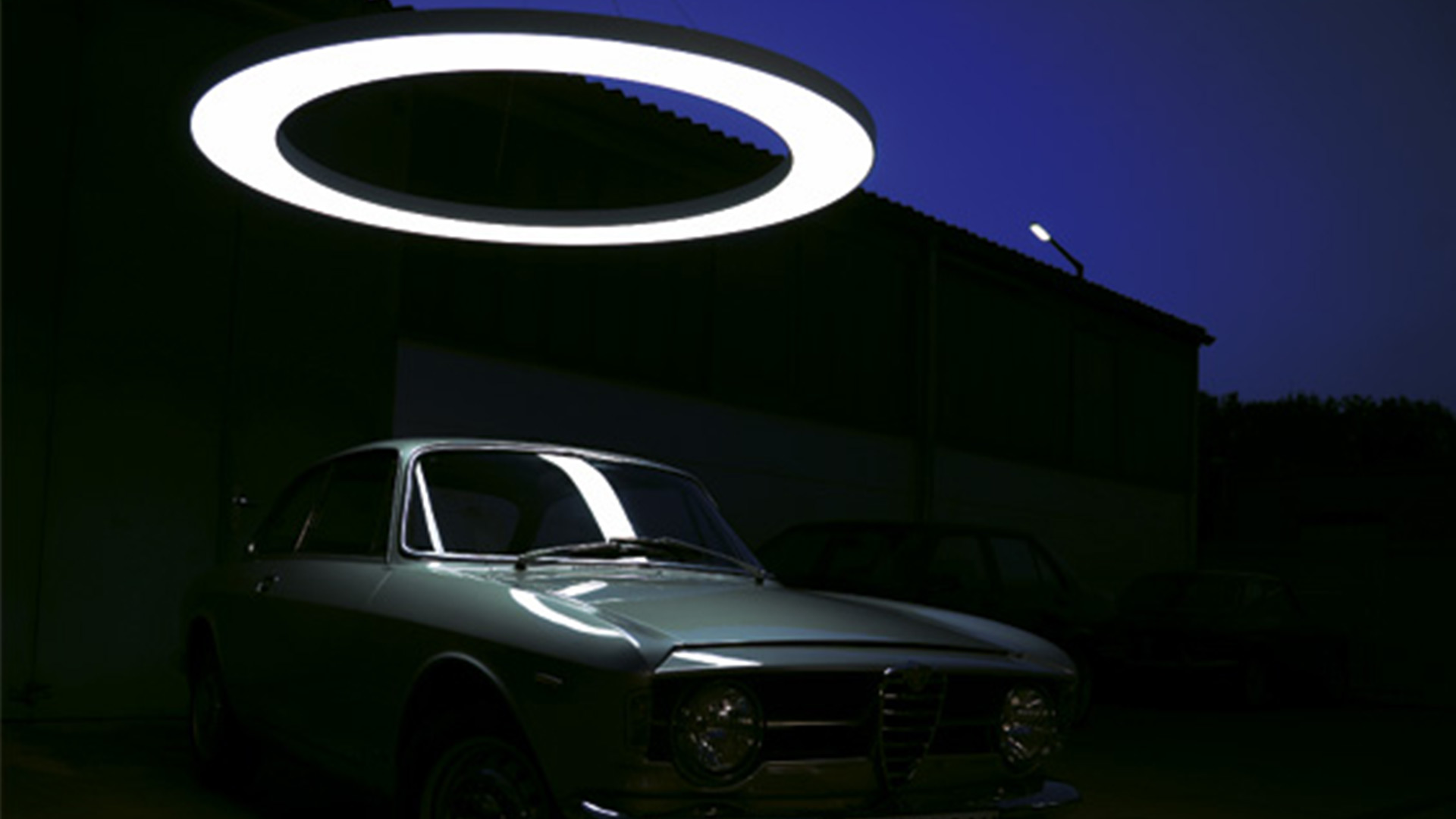 Sattler Anello Circular Lighting Feature Darkness Car Blog Nulty