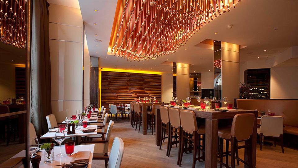 Sixtyone restaurant nulty lighting design consultants