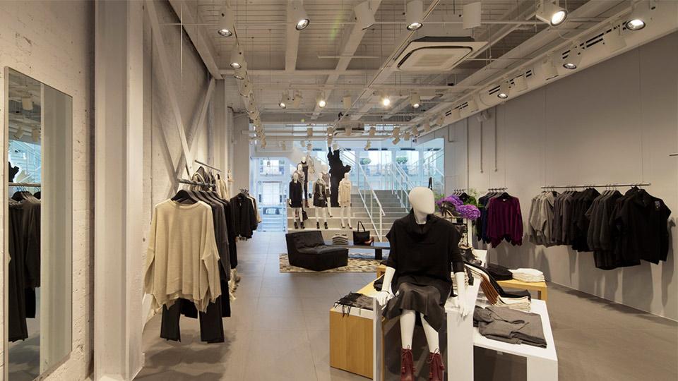 Luxury Fashion Store Interior