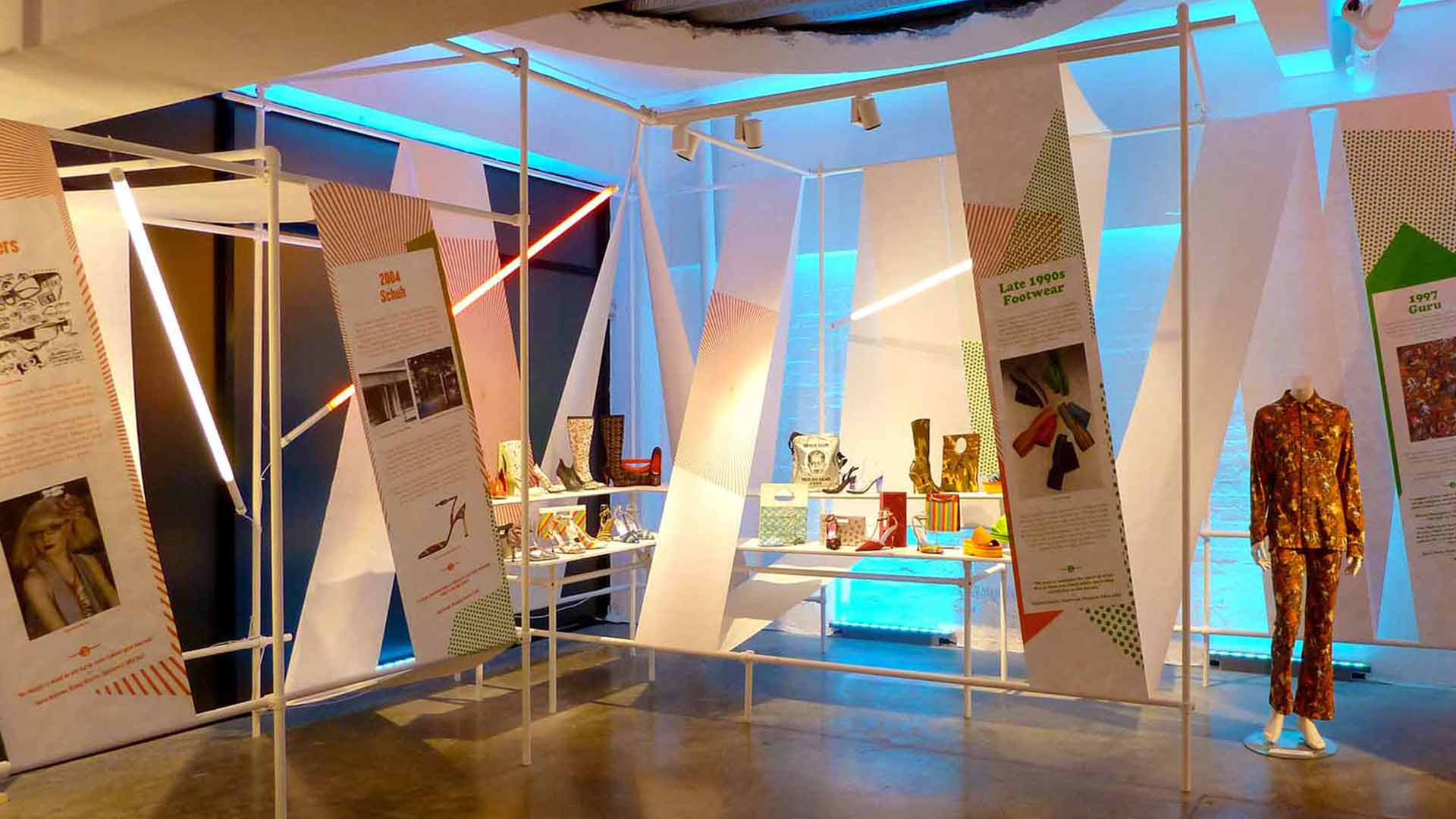D Art Exhibition Uk : Red or dead nulty lighting design consultants