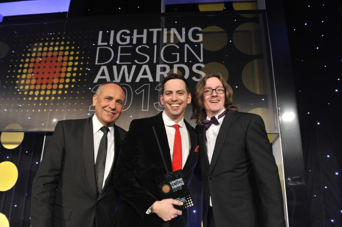 Nulty Lighting Design Awards Superdry Retail Award Winner