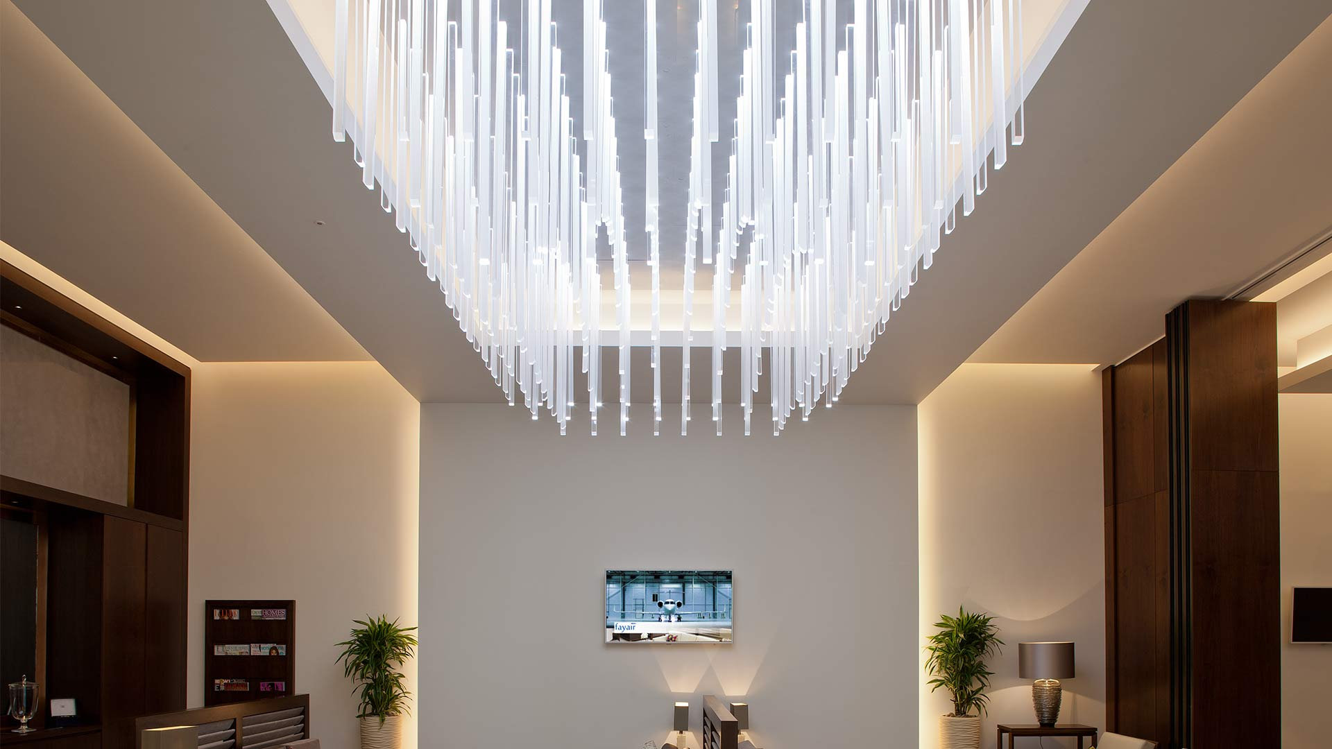 Private airline lounges nulty lighting design consultants private airline lounges aloadofball Choice Image