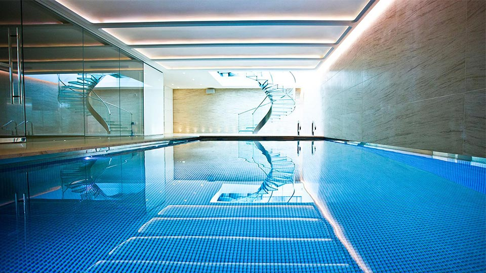 Maida vale mansion nulty lighting design consultants - Swimming pool lighting design ...