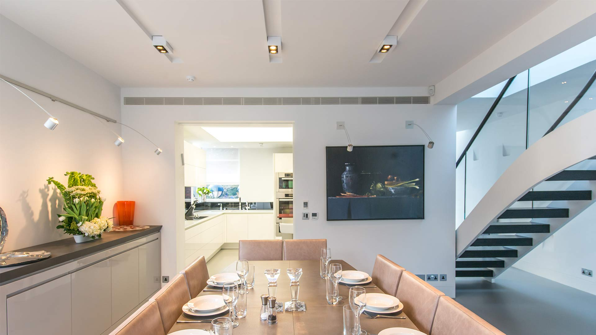 Kitchen Dining Entertaining Design Contemporary Lighting Nulty