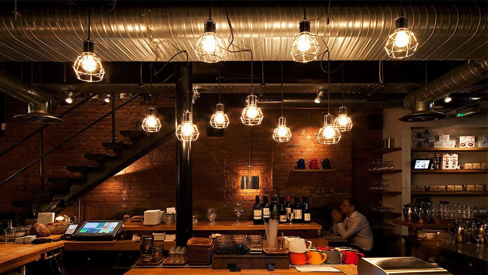 Workshop Coffee Clerkenwell Nulty Lighting Design