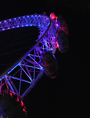 Nulty Lighting Design Office View London Eye Event