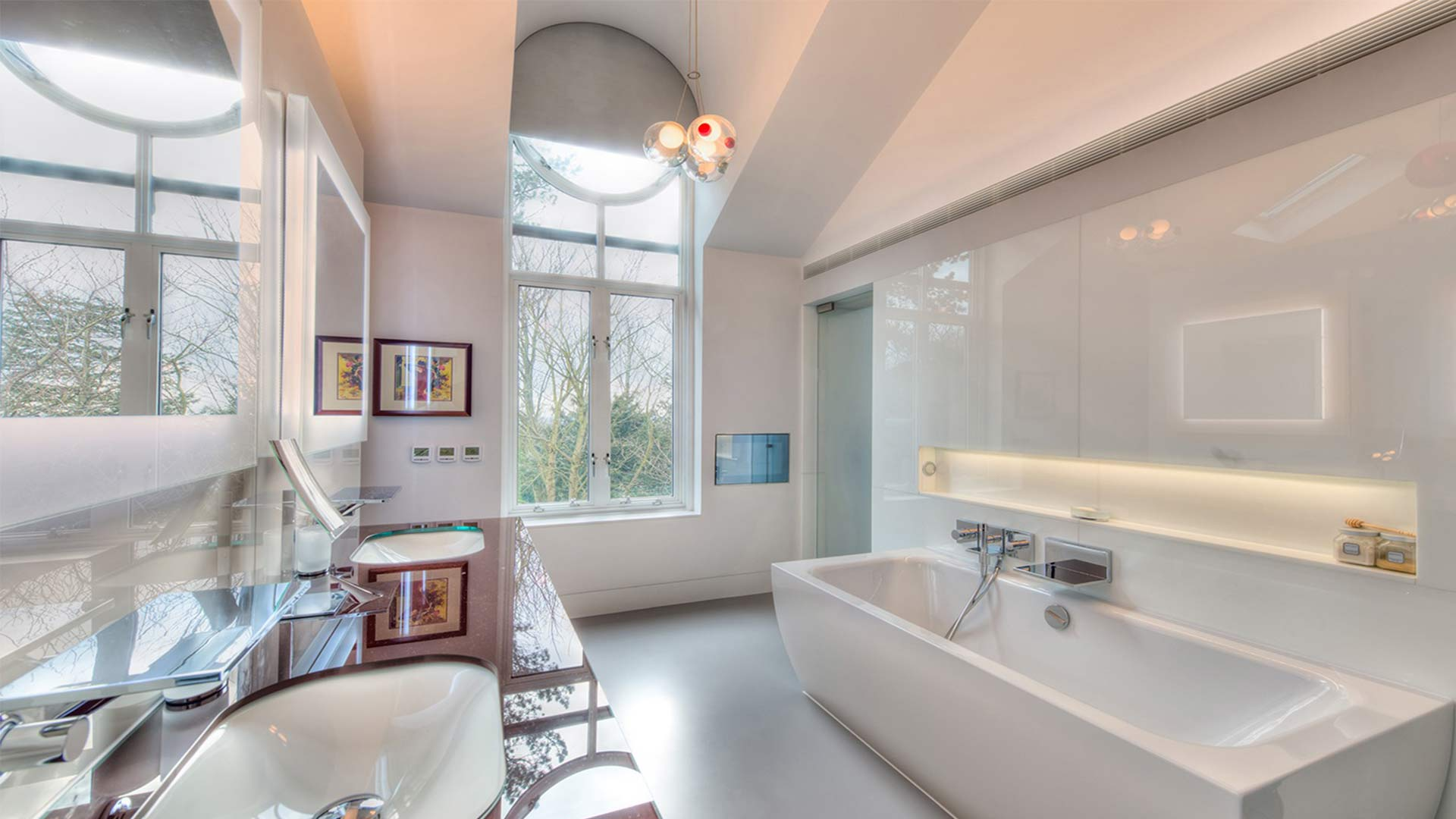 Lighting Scheme Bathroom Bright Home Luxury Architecture Nulty