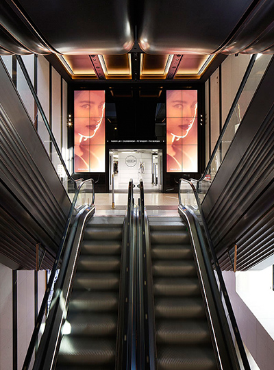 Harrods Quot Escalator 3 Quot Nulty Lighting Design Consultants
