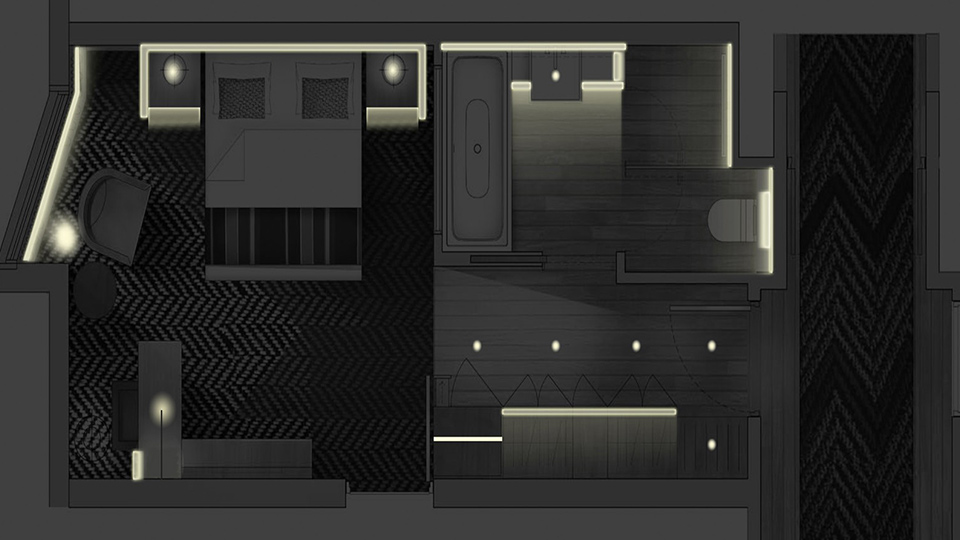 Queensbridge house nulty lighting design consultants for Interior design lighting specialist