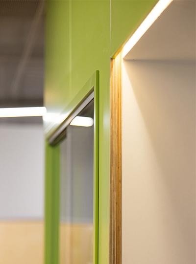 Urdang performing arts academy nulty lighting design for Interior design lighting specialist