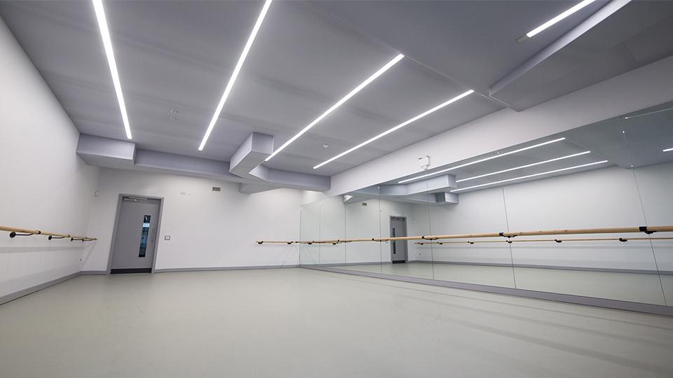 Urdang performing arts academy nulty lighting design consultants