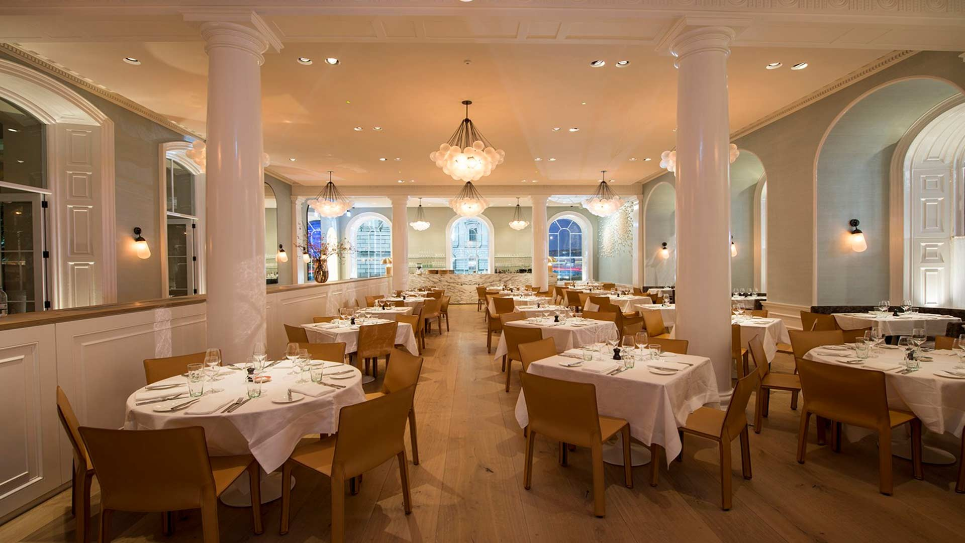 Arched Windows Grand Historic Dining Somerset House Nulty