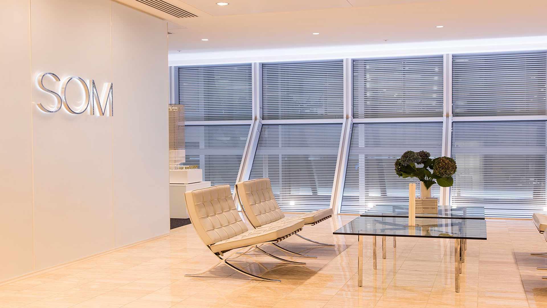 Lighting Design Solution Windows Daylight Modern Stylish Reception HQ Nulty