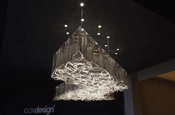 """Daniel Libeskind's """"ICE"""" 100%design London Review Nulty"""