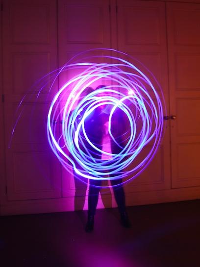 Light Graffiti Circle Light Design Experience Nulty