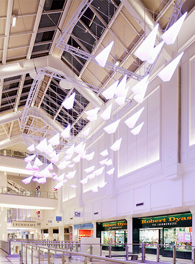 County Mall Nulty Lighting Design Consultants