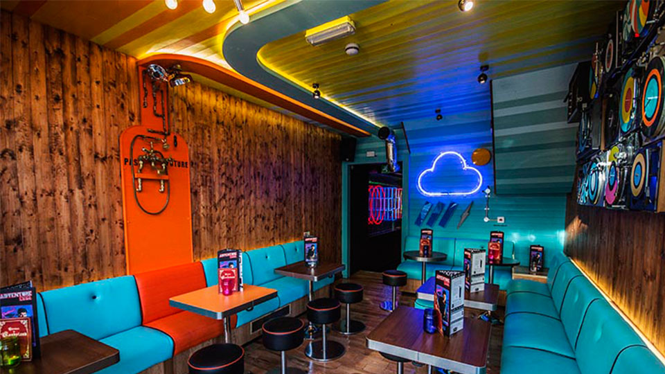 Adventure Bar Clapham Junction Nulty Lighting Design