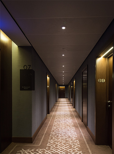 St dunstan 39 s court fetter lane nulty lighting design for Interior design lighting uk