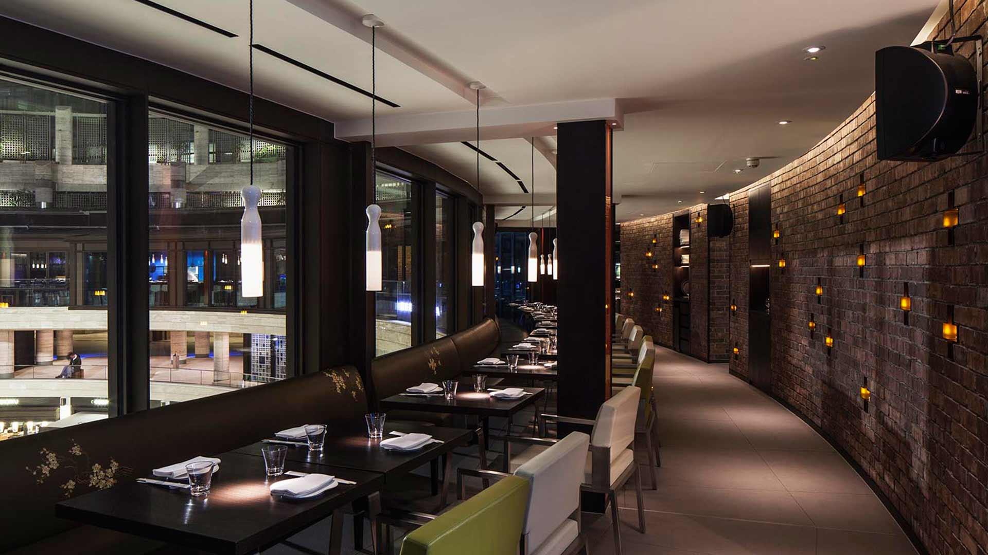 Circular Architecture Restaurant Design Lighting Consultant Nulty