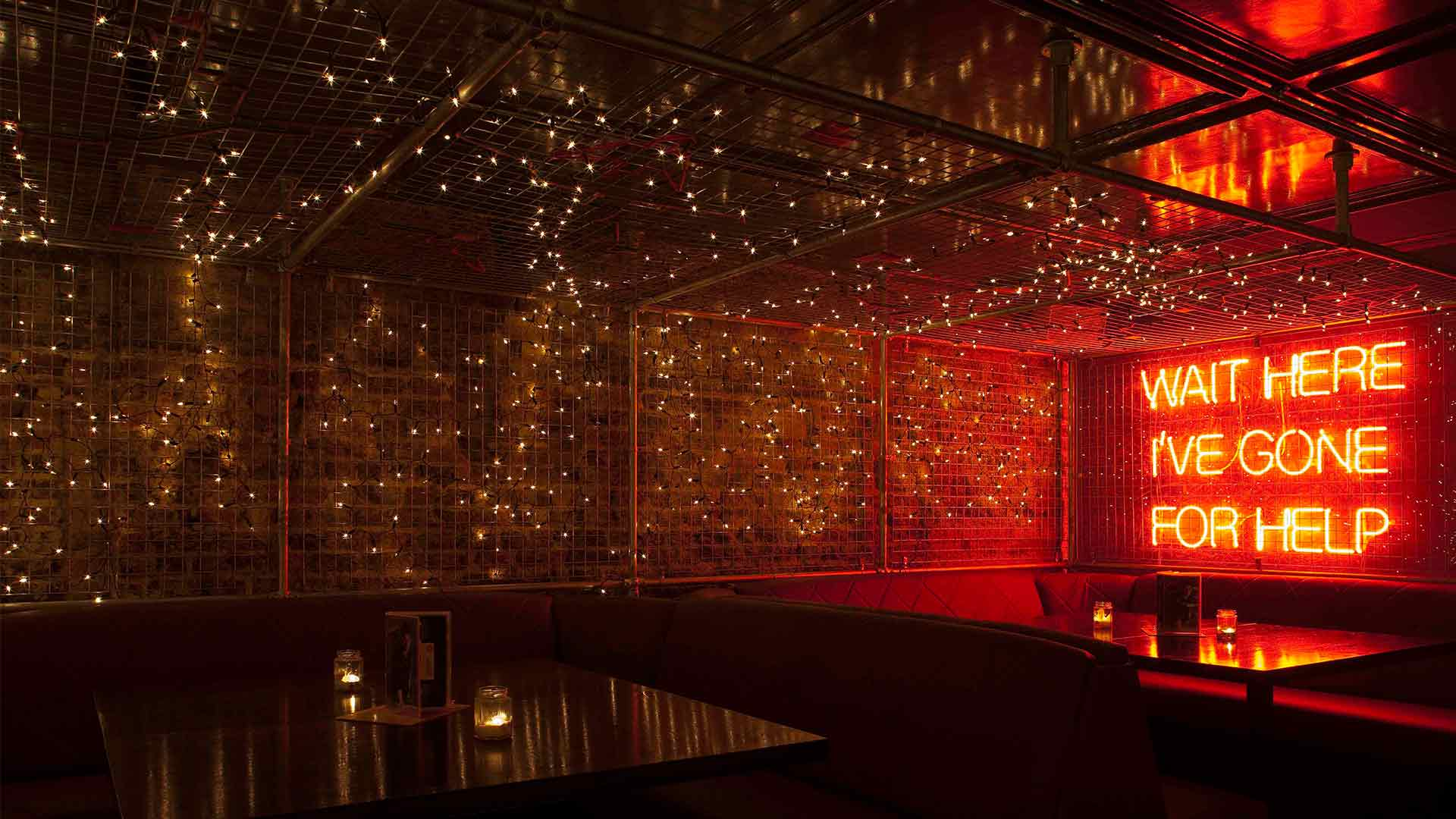 Restaurant bar design awards nulty lighting design for Night light design