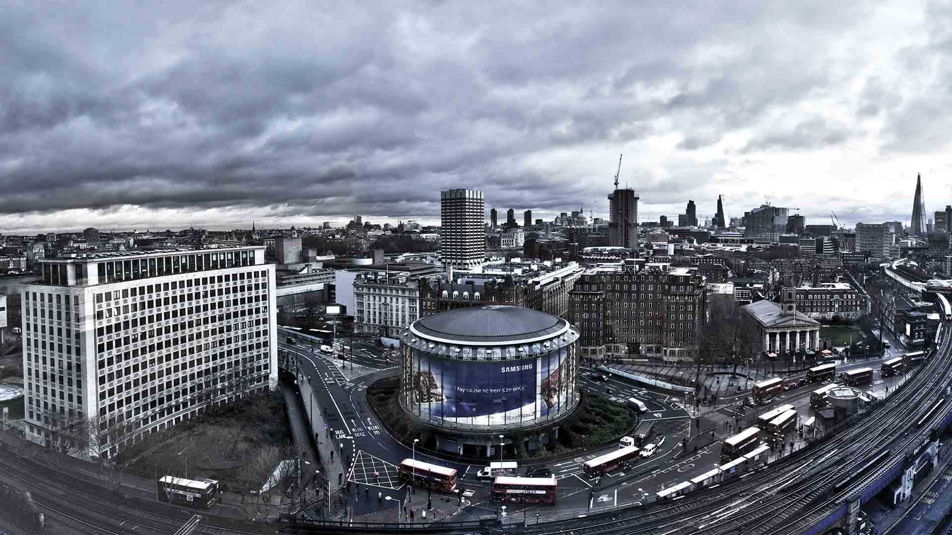 Nulty London Office Studio View City Lighting Design