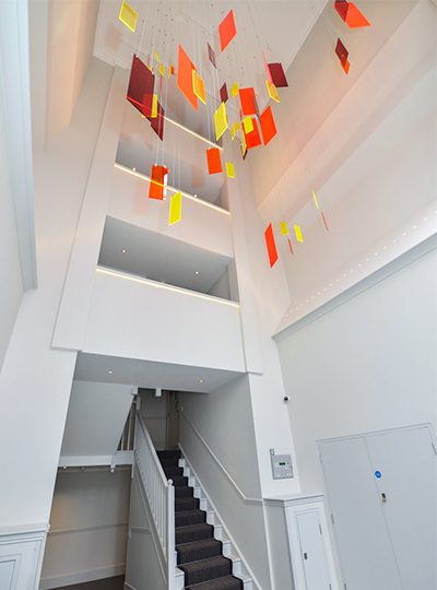 st peters court london nulty lighting design consultants