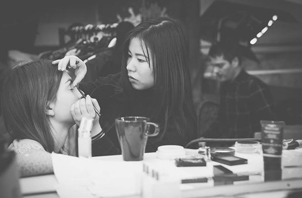 Behind Scenes Makeup Music Video Inspiration Lighting Design Blog Nulty (Photo: Xingyu Chai)