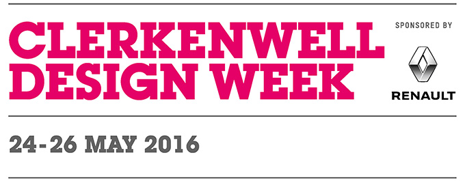 Clerkenwell Design Week 2016 Logo Lighting Designers Nulty