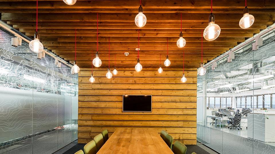 Berghaus head office nulty lighting design consultants