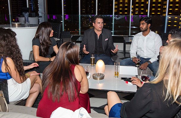 Nulty Dubai International Lighting Design Consultants Launch Party
