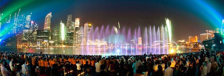 Wonder Full Light Show Concept Singapore Lighting Designer Experience