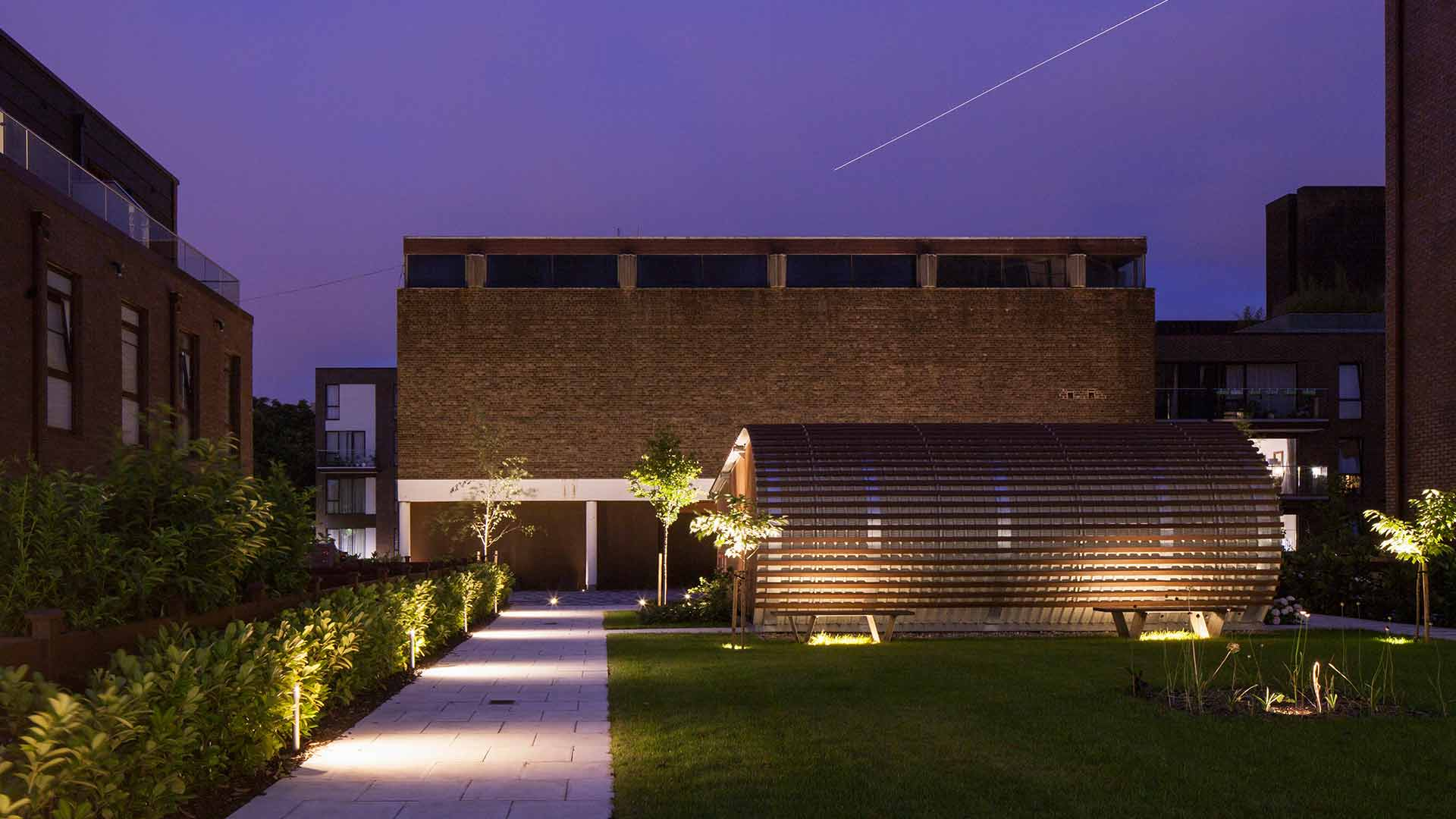 Architectural Lighting Design Listed Buildings Flats Exterior Landscape Nulty