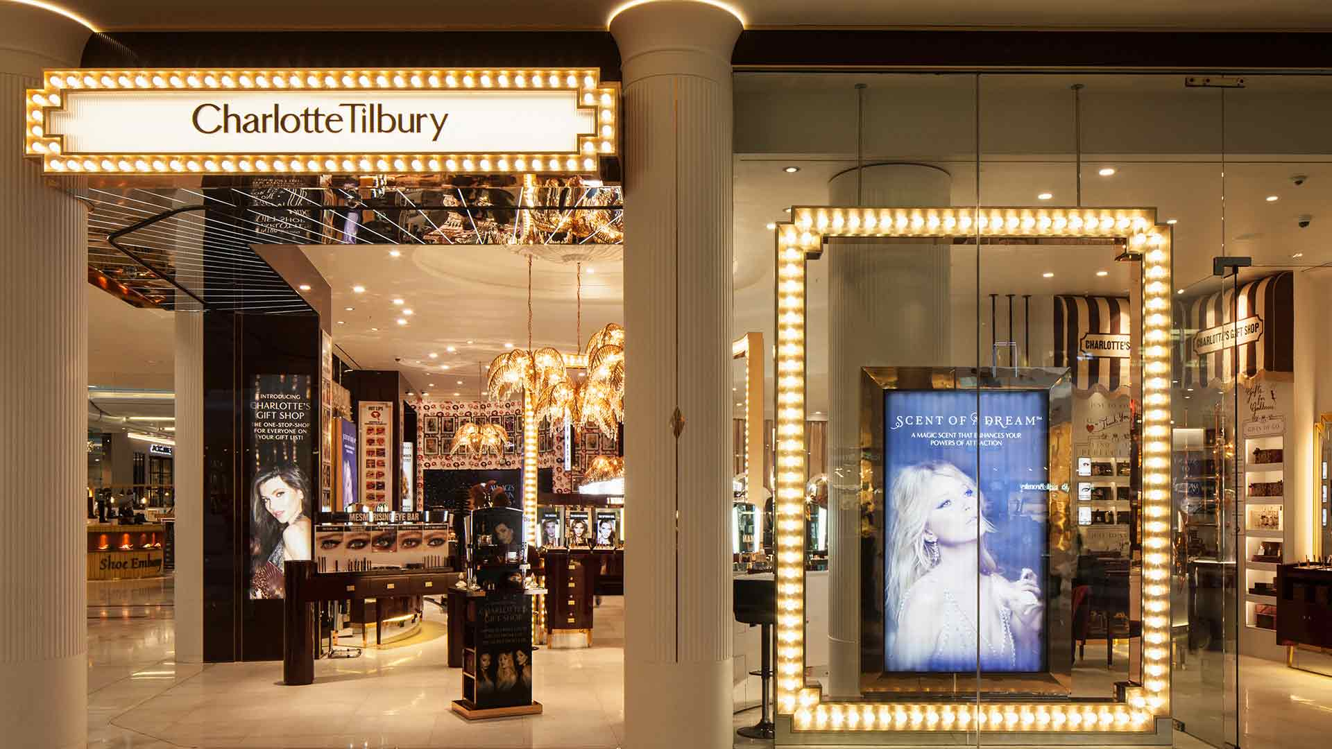Architectural lighting scheme facade beauty store consultants nulty