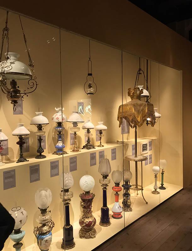 Paraffin Lamps Nordic Light Exhibition Nordiska Museet