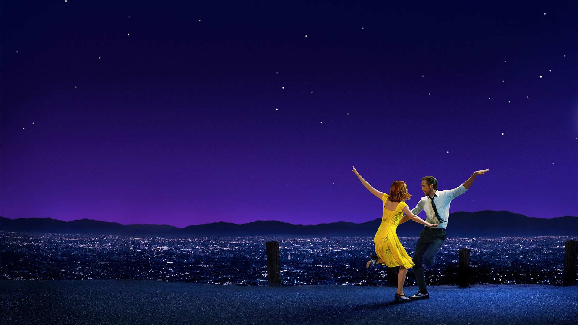La La Land Lighting Night Sky