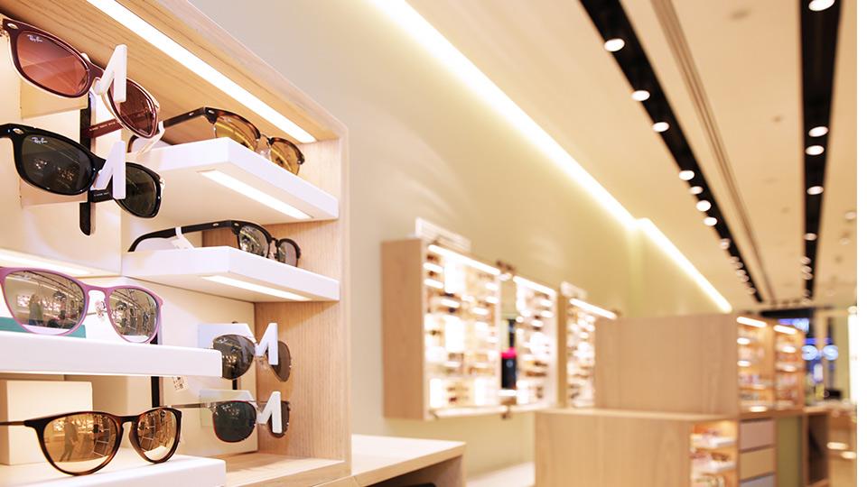 Magrabi Optical Nulty Lighting Design Consultants