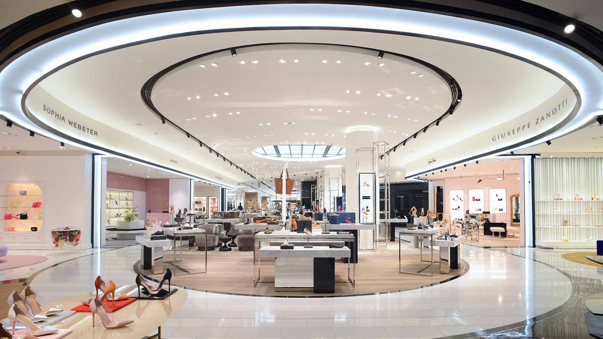 Architectural Lighting Design Department Store Bloomingdales Nulty