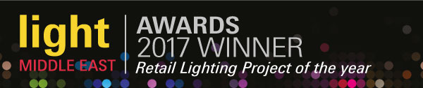 Light Middle East Awards 2017 Retail Winner Bloomingdale's Nulty