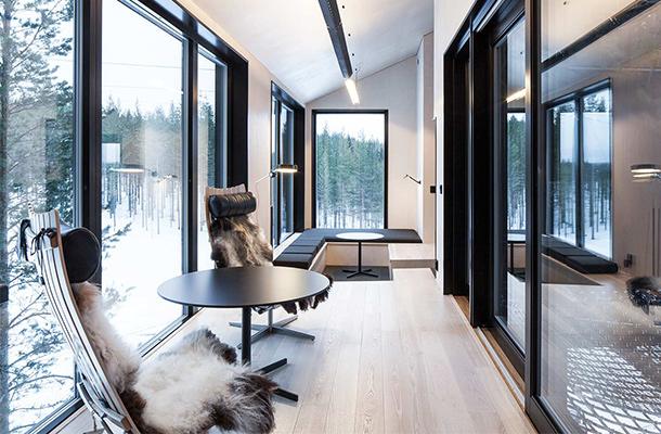 Interior Design Treehotel Room Sweden