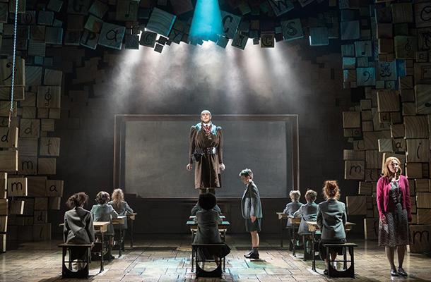 Matilda The Musical Spotlight Scene Lighting Contrast
