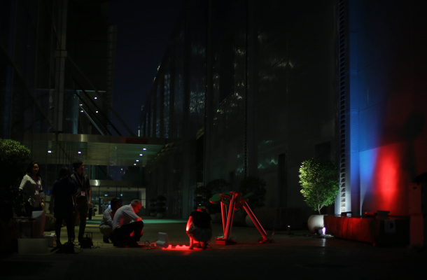 Ready Steady Light Competition 2017 Winning Installation Assembly