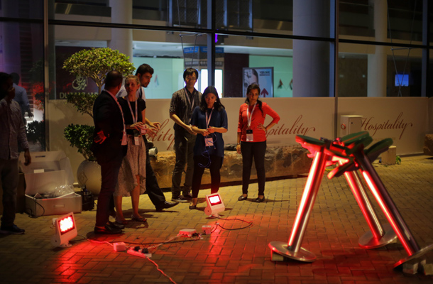 Ready Steady Light Competition 2017 Installation Assembly Team Winners