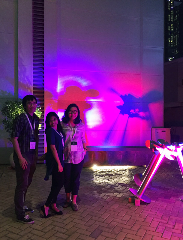 Ready Steady Light Competition 2017 Winning Installation Lighting Designers Nulty