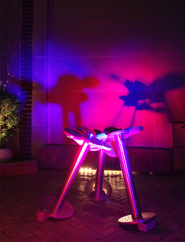 Ready Steady Light Competition 2017 Projection Colour Dragons Winning Lighting Scheme