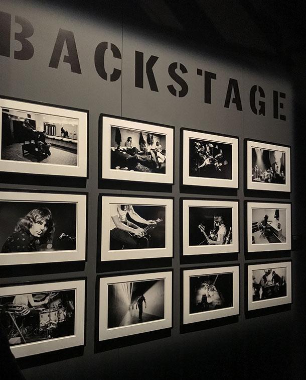 Black White Photographs Pink Floyd Backstage