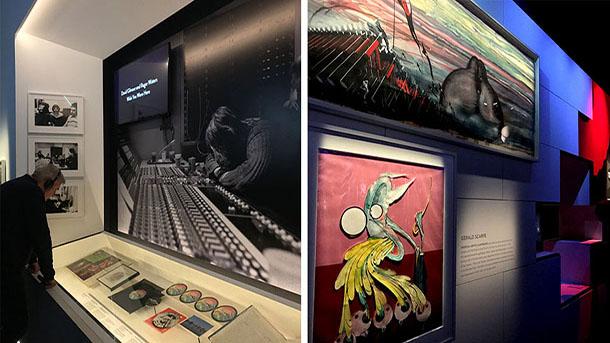 Comparison Pink Floyd Exhibition Lighting