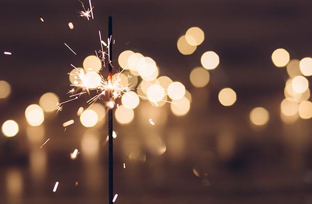 Sparkler Light Effect Night Celebration