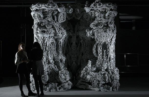 Michael Hansmeyer Digital Grotesque II Computational Architecture