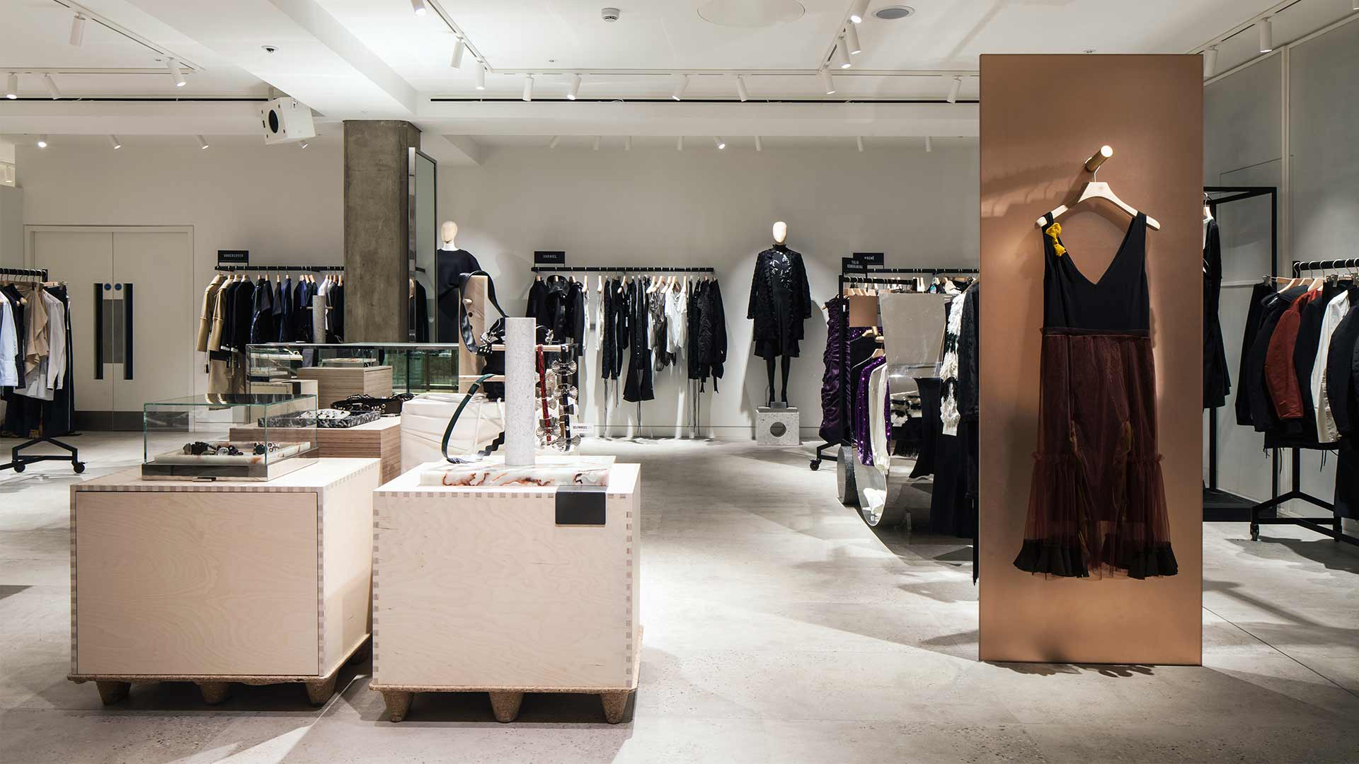 Luxury Department Store London Fashion Studio Architectural Lighting Designers Nulty