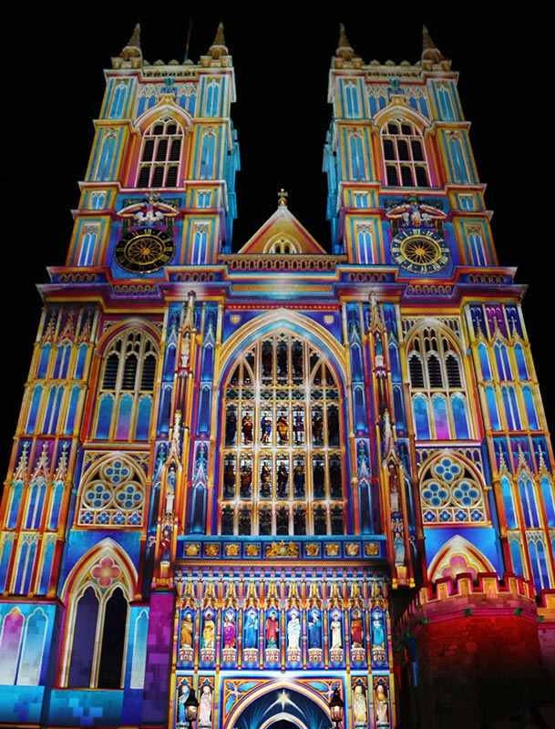 Light of the Spirit (Chapter 2) Patrice Warrener Westminster Abbey Light Art